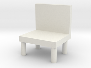 chair in White Strong & Flexible: Medium