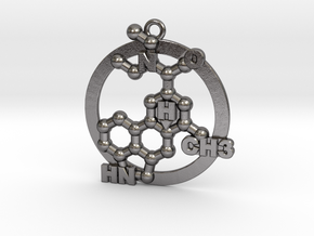 Lsd Molecule 001 in Polished Nickel Steel