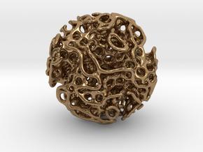Small lidinoid (irregular holes) in Natural Brass