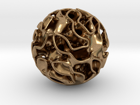 Small lidinoid in Natural Brass