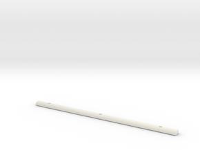 Light Bar Cover in White Natural Versatile Plastic