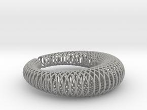 Bracelet 'Wire pattern' in Aluminum
