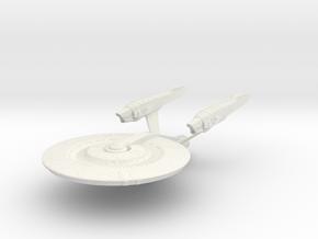 Yorktown Class Cruiser in White Strong & Flexible