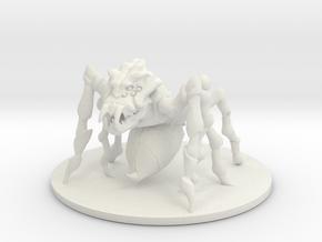 D&D_Min_Spider_Stinger in White Natural Versatile Plastic