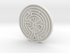 The Maze Replica Westworld in White Natural Versatile Plastic
