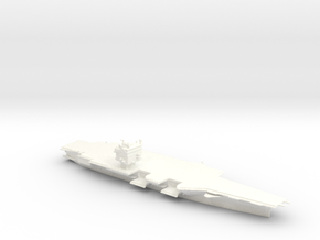 USS Enterprise CVN65 in 1/2400 in White Processed Versatile Plastic