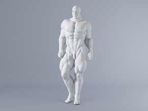 Mini Strong Man 1/64 007 in Smooth Fine Detail Plastic: 1:64 - S