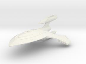 Shark Class  BattleDestroyer in White Strong & Flexible