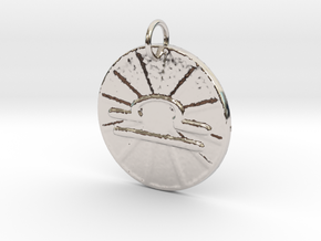 Libra Wheel by ~M. (Sept. 23 - Oct. 22) in Rhodium Plated Brass
