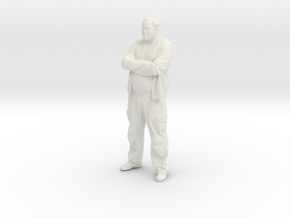 Printle C Homme 036 - 1/72 - wob in White Strong & Flexible