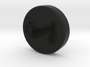 Cobra Brake Resevoir Cap Cover in Black Natural Versatile Plastic