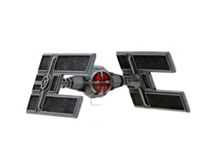 TIE/D Automated Fighter 1/270 in Smoothest Fine Detail Plastic