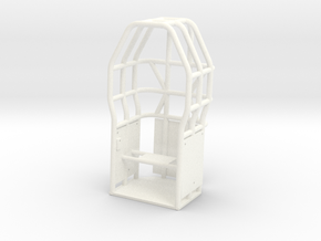 SATISFACTION CAGE in White Processed Versatile Plastic