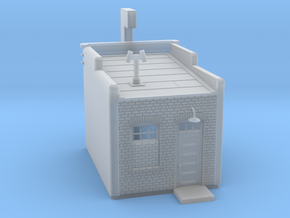 N-scale Buddys Waffle Shop in Smooth Fine Detail Plastic