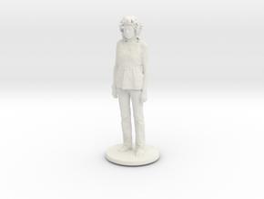 Printle C Femme 087 - 1/56  in White Natural Versatile Plastic