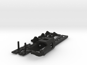 NEW! SL2-N20-v1 HO Slot Car Chassis in Black Strong & Flexible