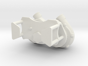 Procharger Dual Crank Mount 1/8 in White Strong & Flexible