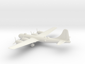 Boeing B-29 Superfortress in White Natural Versatile Plastic: 1:200