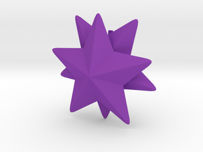 Pokemon Sutaamii (Starmie) in Purple Strong & Flexible Polished