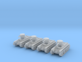 6mm BT-2 tanks in Frosted Extreme Detail