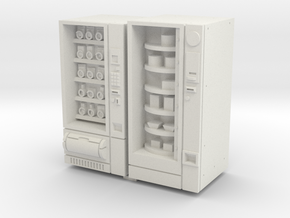 35mm Scale Snack And Food Vending Machine in White Natural Versatile Plastic