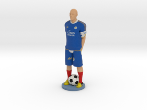Personal Gift Footballer with your Face and Name 1 in Full Color Sandstone