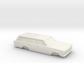 1/25 1966 Ford Country Squire in White Strong & Flexible