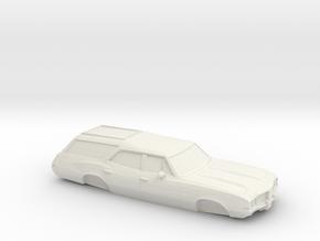 1/25 1968-72 OldsmobileVista Cruiser in White Strong & Flexible