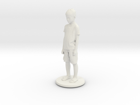 Printle C Kid 129 - 1/24 in White Natural Versatile Plastic