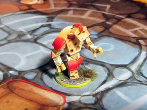 Cheese Golem - Mice & Mystics in Frosted Ultra Detail