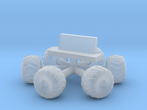 Space 1999 Moonbuggy Wheels and Seats Dinky Scaled in Smooth Fine Detail Plastic