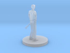 Sheriff With Shotgun in Smooth Fine Detail Plastic