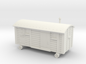 TT Scale Shepherds Hut in White Strong & Flexible