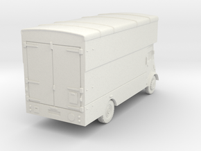 TT Gauge Furniture Van in White Natural Versatile Plastic