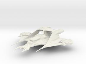 Draconia (Buck Rogers), 1/50K Fleet Scale in White Strong & Flexible