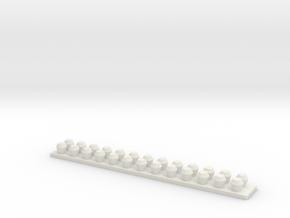 Turbo Light Strip in White Natural Versatile Plastic