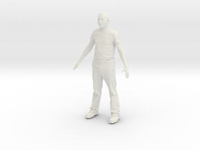 Printle C Homme 413 - 1/24 - wob in White Strong & Flexible