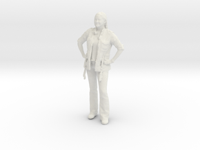 Printle C Femme 042 - 1/35 - wob in White Strong & Flexible