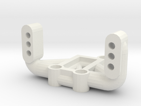 Mrc Servo Mount 38mm in White Natural Versatile Plastic