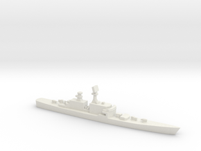 USS CGN-36 California, 1/3000 in White Natural Versatile Plastic