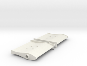 SMIT BRONCO - Rudder (2 pcs) in White Strong & Flexible
