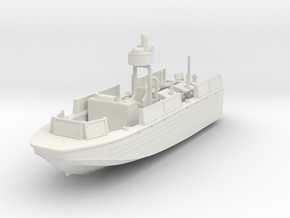 1/87 Riverine Assault Boat (RAB) in White Natural Versatile Plastic