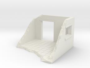 Room In Ruins in White Natural Versatile Plastic