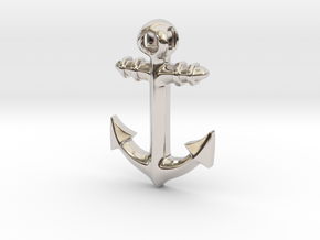 Anchor Classic 2016 in Rhodium Plated Brass