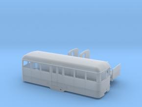 Beiwagen Mindener Kreisbahn MKB 131/132 Spur H0 1: in Smooth Fine Detail Plastic