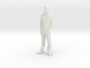Printle C Homme 004 - 1/32 - wob in White Strong & Flexible