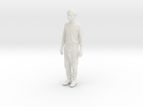 Printle C Homme 007 - 1/32 - wob in White Natural Versatile Plastic