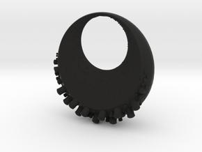Lunautical Pendant in Black Natural Versatile Plastic