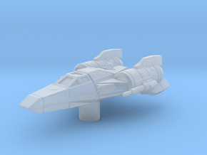 AX-Wing in Smooth Fine Detail Plastic
