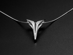 YOUNIVERSAL FREE, Pendant in Polished Silver